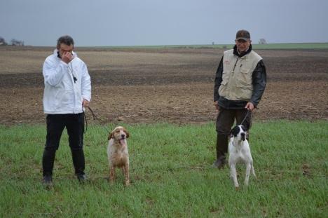 Αριστερά ο Γάλλος Lanne με τον  Capo du val du Ruth και δεξιά ο P. Cunati για το πριγκιπάτο του Μονακό με τον Picenum Sanson